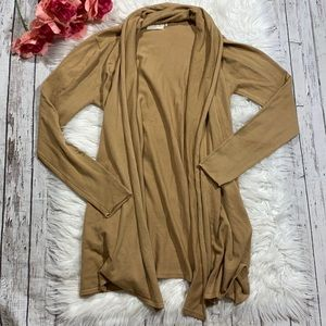 Dreamers Light Weight Open Front Cardigan M/L